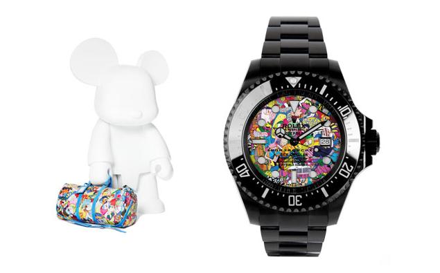 André Borchers Bag + Watch