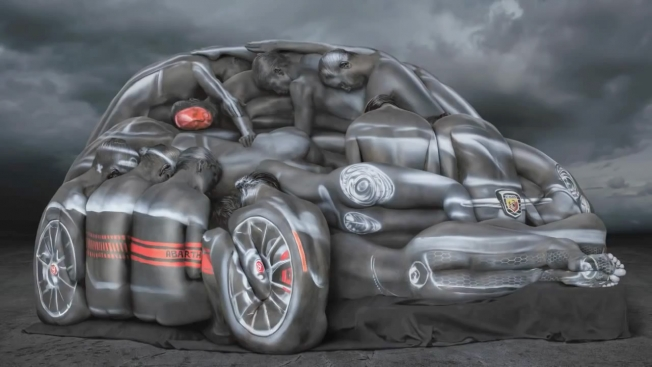 fiat scout life body paint