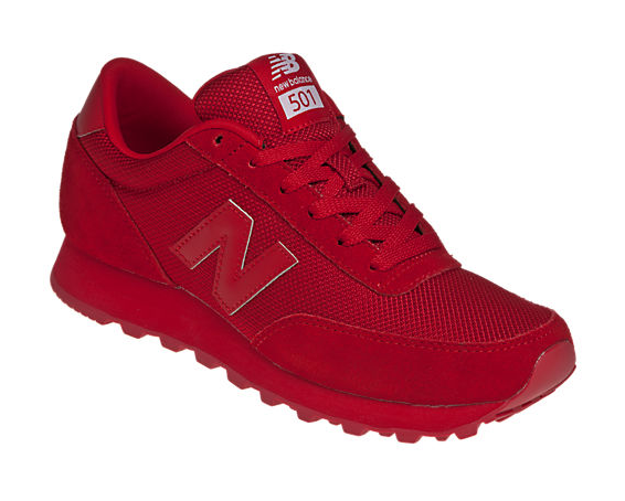 all red new balances