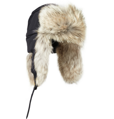 Canada Goose coats outlet store - Canada Goose + Aviator Coyote Trapper Hat | +The Scout Life