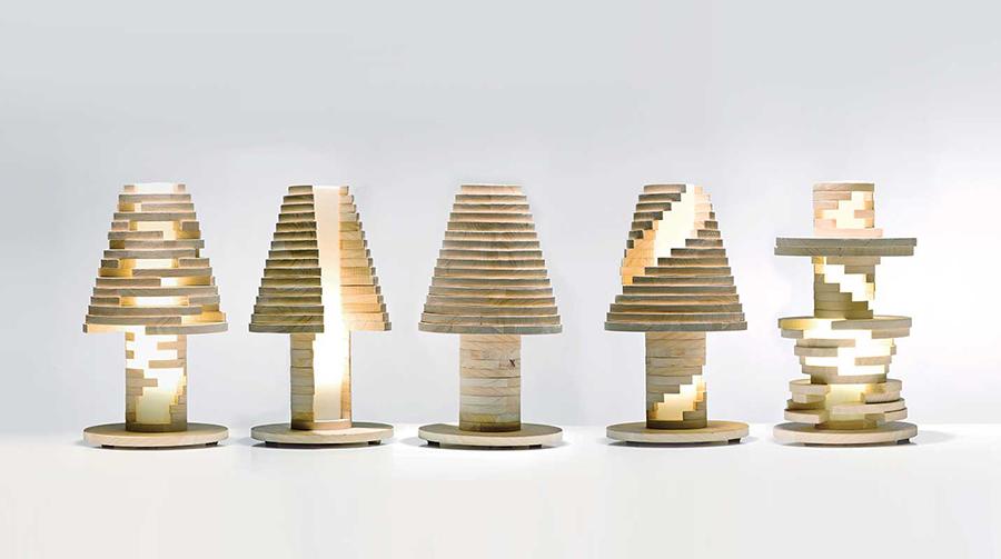 Manifattura Italiana Design.Lamp Design 1 Interchangeable Pieces Morgandowdall
