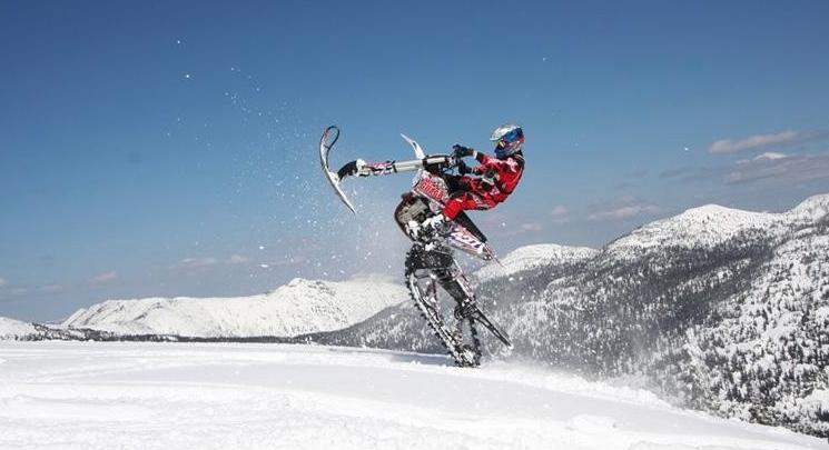 Snow Dirt Bike >> Timbersled Snow Dirt Bike Kit The Dj Blaze Show