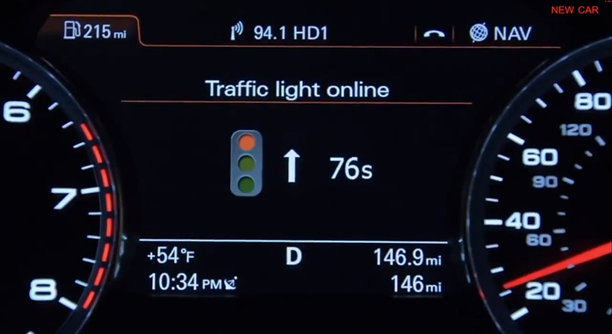 Audi + Smart City Traffic Light Assistant System | +The Scout Life