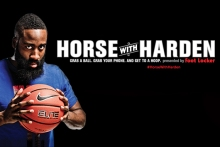 footlocker scout life horse with harden