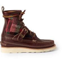 yuketen scout life paneled leather lace boot 02