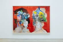 george condo scout life double heads 05