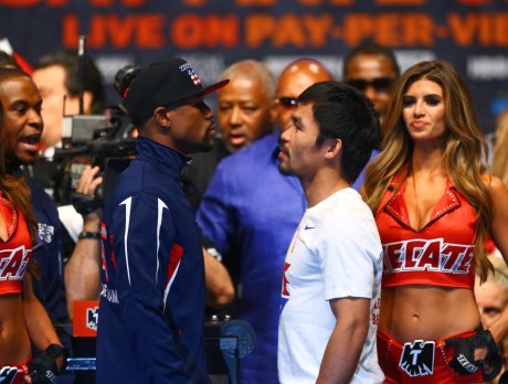 USP BOXING: MAYWEATHER VS PACQUIAO-WEIGH INS S BOX USA NV