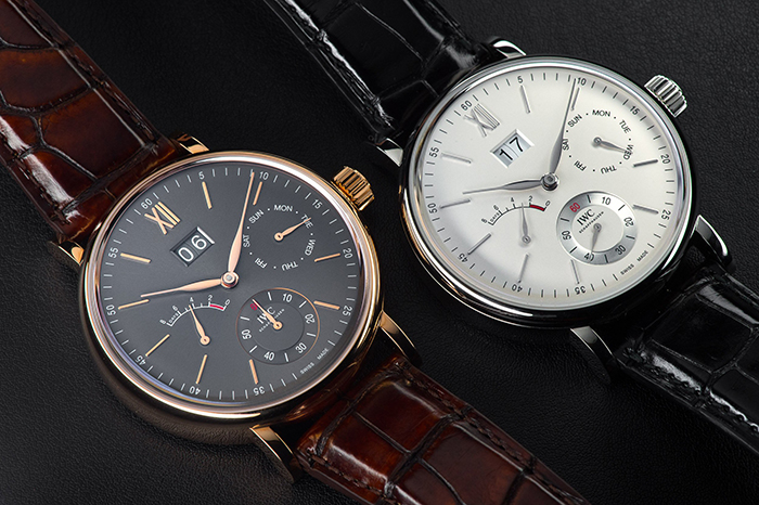 iwc scout life hand wound day date 1