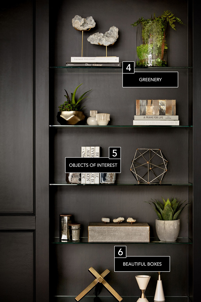 elle scout life bookcase decor 3