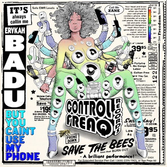 erykah badu scout life use my phone