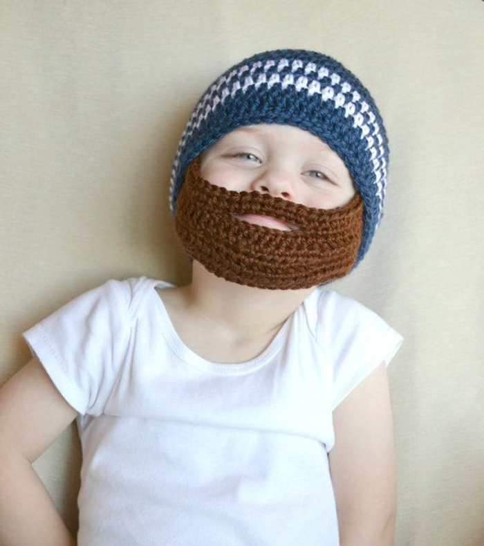 wee one scout life beard beanie 2
