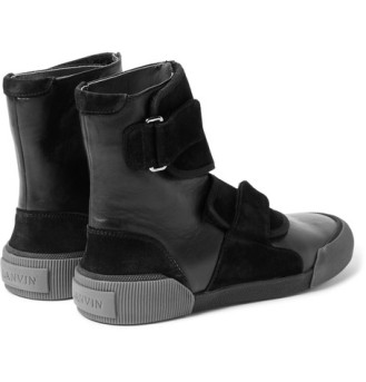 lanvin scout life panelled hightop 4