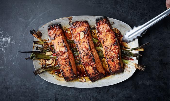 bon appétit scout life broiled salmon