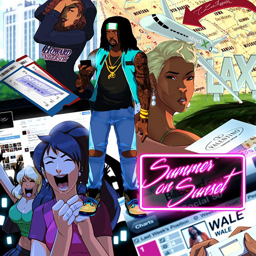 wale scout life summer on sunset