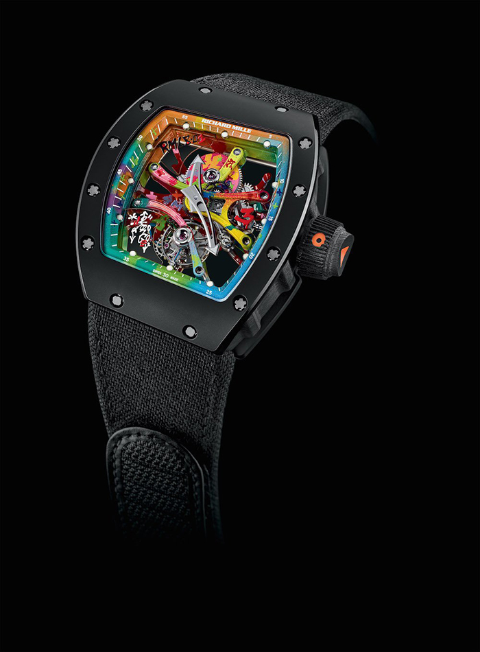 richard mille scout life graffiti tourbillon 1