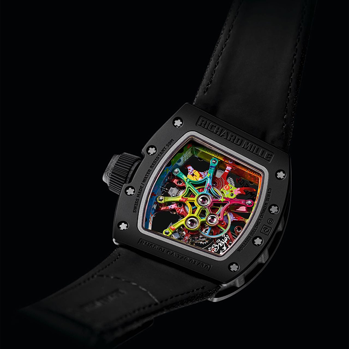 richard mille scout life graffiti tourbillon 6